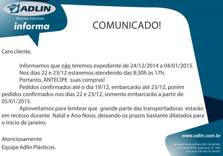 comunicado_atendimento_final_do_ano_2014_industrial
